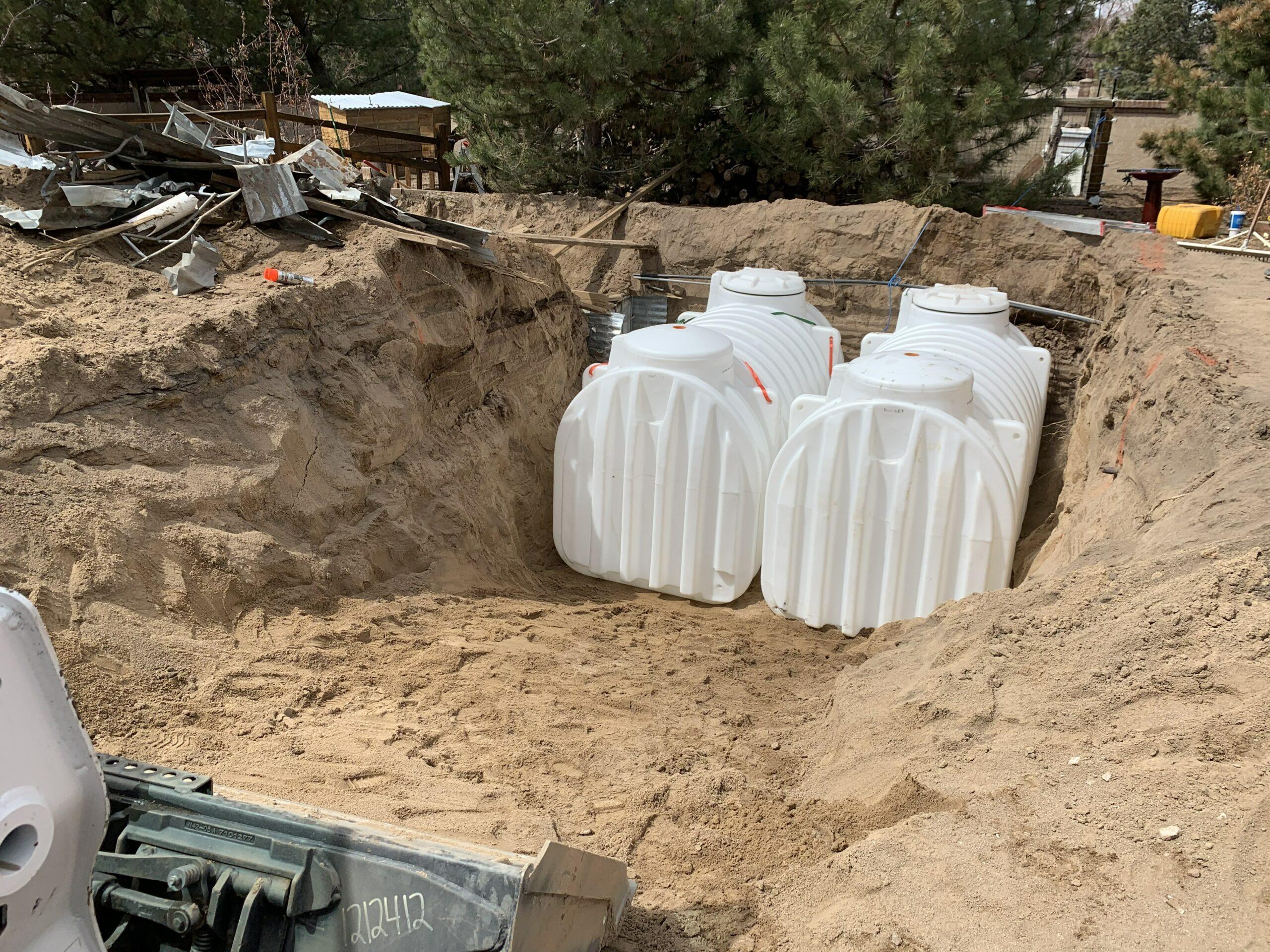 Cistern Install